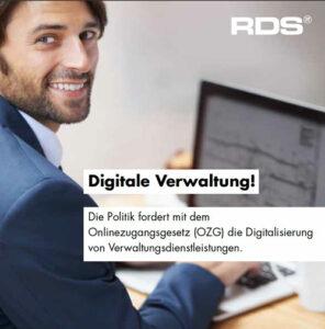 Titelbild Digitale Verwaltung