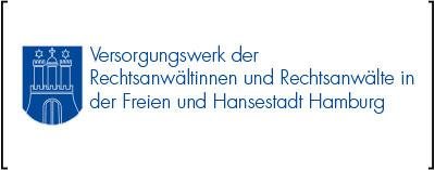 Logo des Versorgungswerk der Rechtsanwältinnen und Rechtsanwälte der Freien und Hansestadt Hamburg